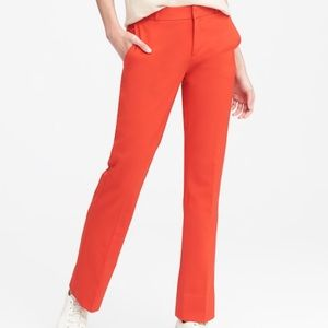 Pants - Banana Republic Logan Trouser-Fit Coral Pant 4